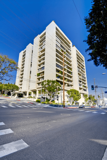 west Hollywood Highrise empire west
