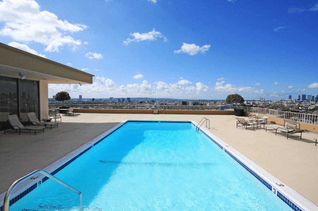 Empire West Rooftop Pool