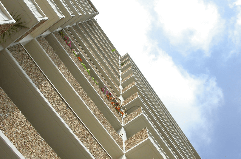 Shoreham Towers balcony