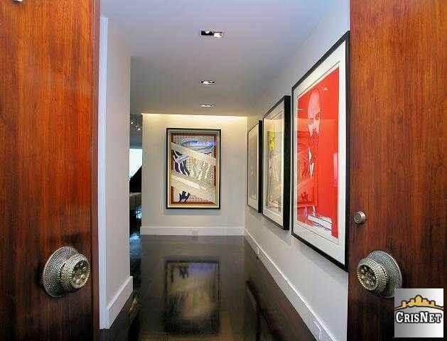 Empire West Double Mahogany Doors