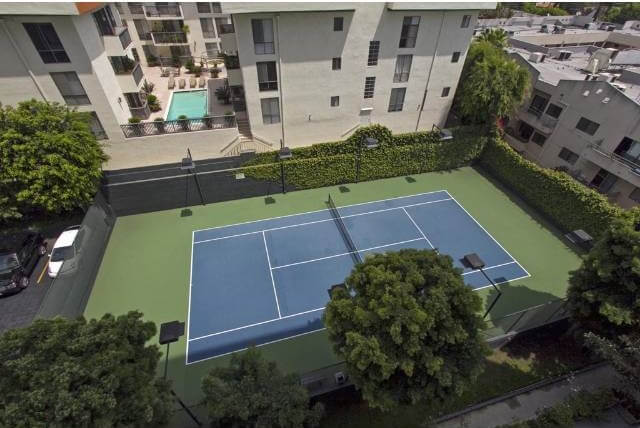 Empire West tennis court