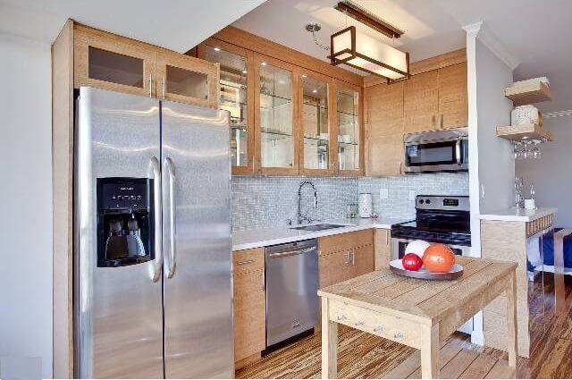 Doheny West Remodeled kitchen