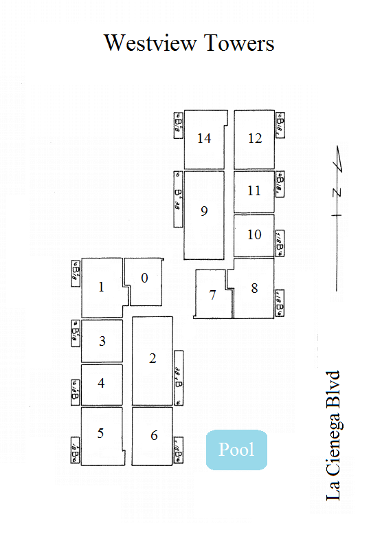 westview towers plat map