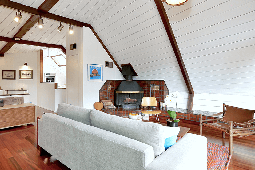 Gesner boathouse living room