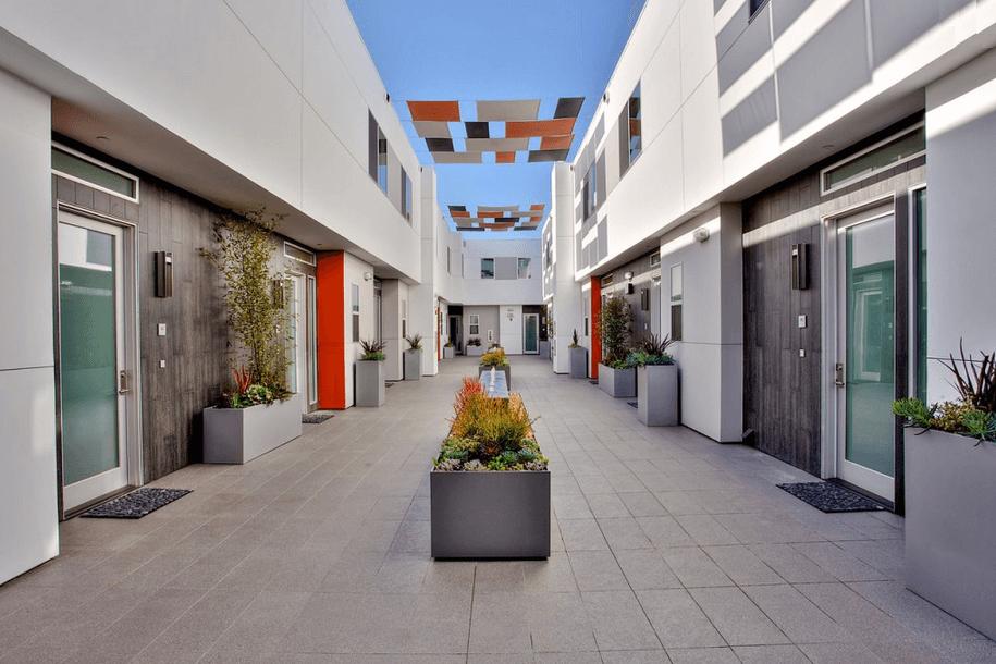 11500 National Blvd courtyard