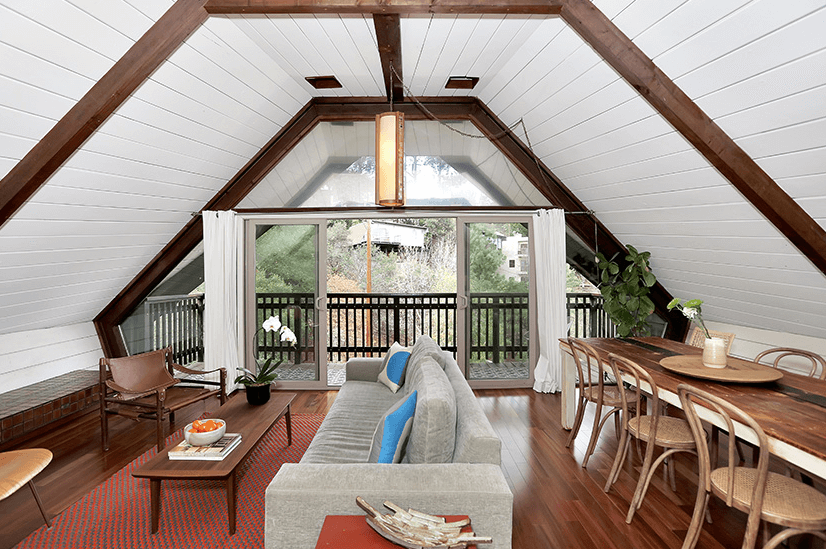 boathouse living room