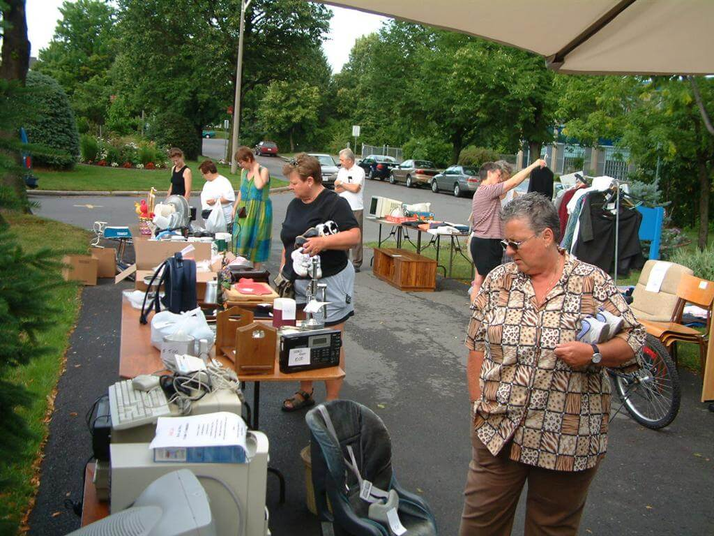 as is garage sale