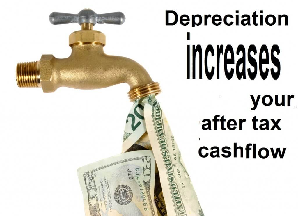 Depreciation increases cash flow