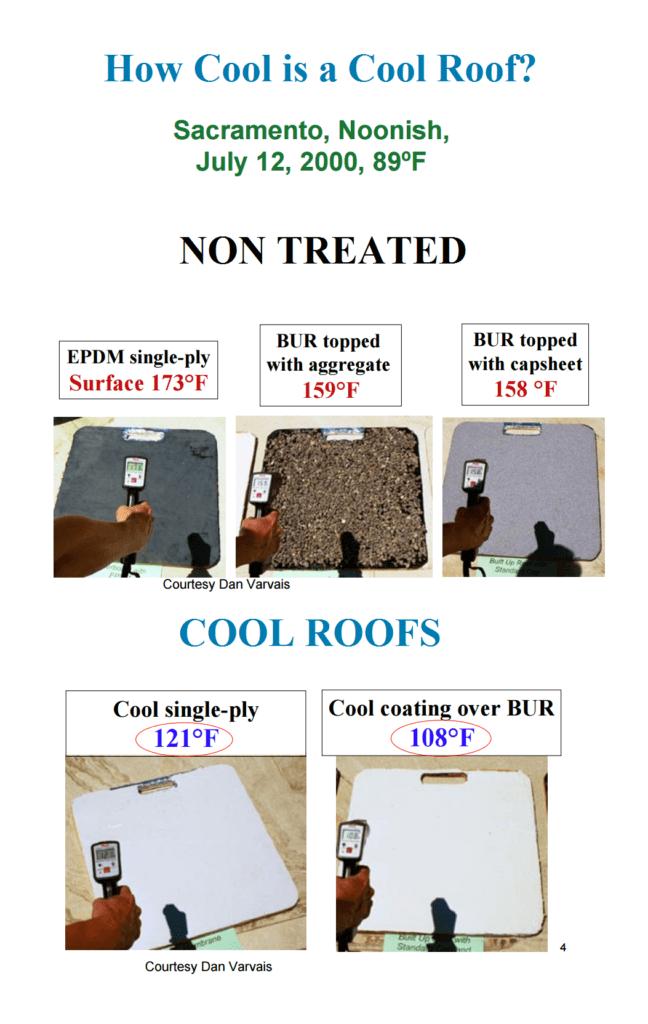 cool roof comparisondf