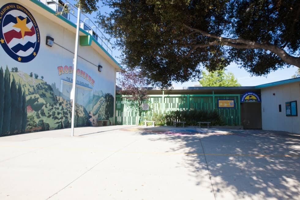 Roscomare Road elementary school bel air