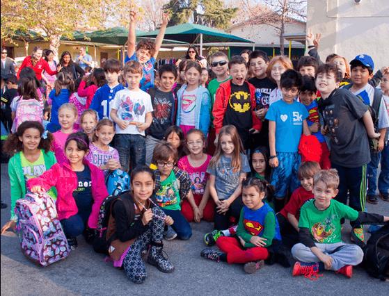 Warner Ave elementary school