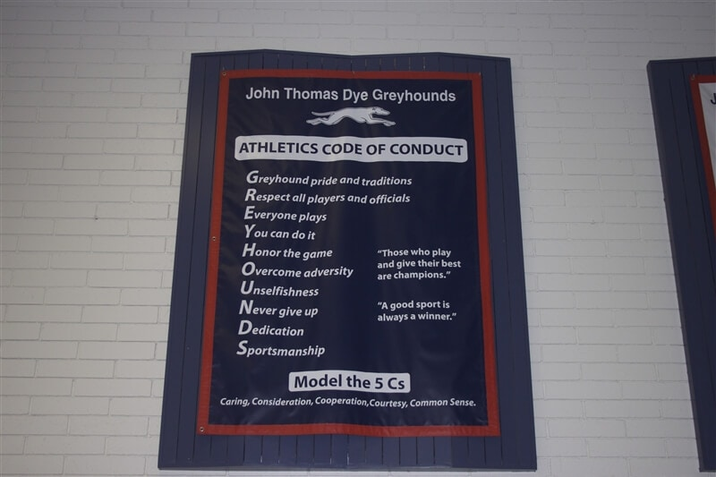 John Thomas Dye Honor Code