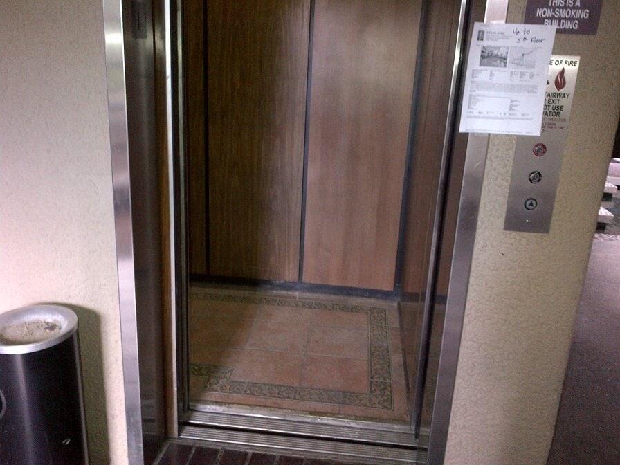 old elevator