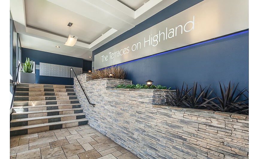 Highland Terraces Lobby