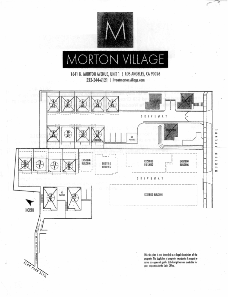 Mortan Village Site Plan