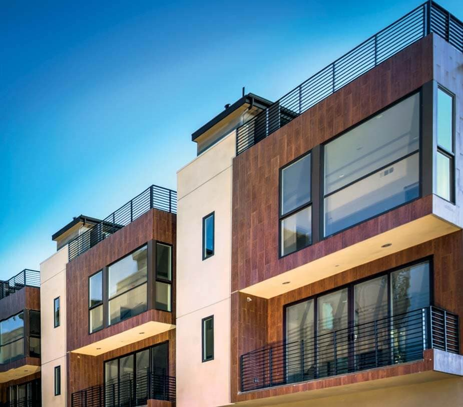 Los Angeles California Homes: The Newly Constructed, Morton Village In Echo Park