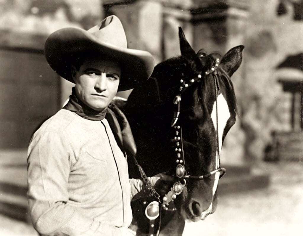 Tom Mix and his trusty steed Tony