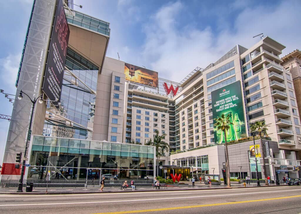 Why the w hollywood residences is one of the hottest for Living room 6250 hollywood blvd