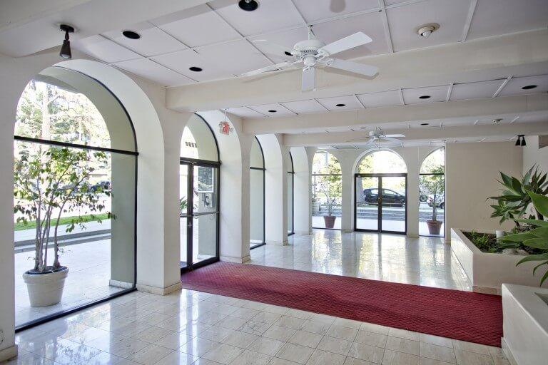 westwood garden lobby doors