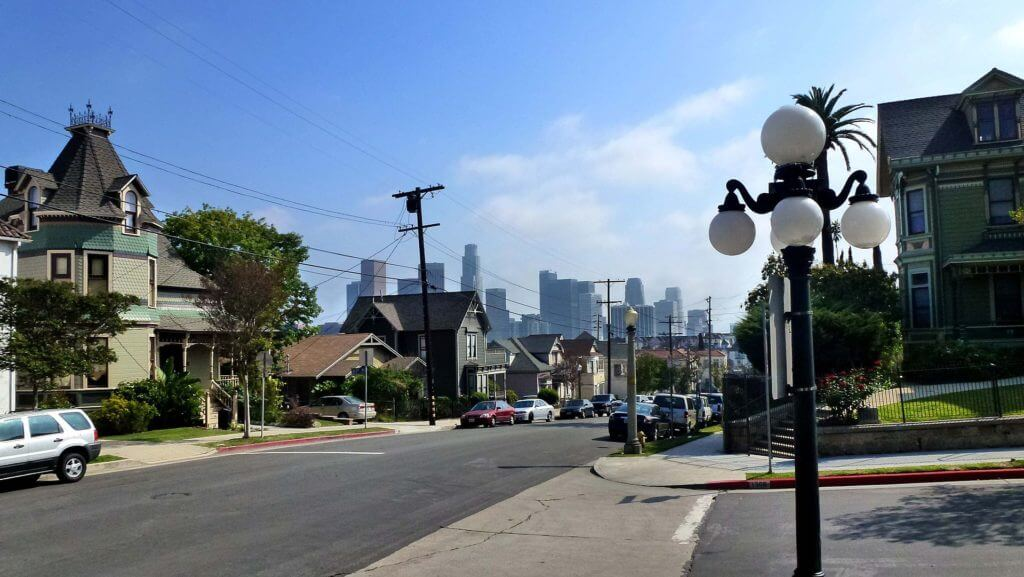 Angelino Heights Neighborhood los angeles