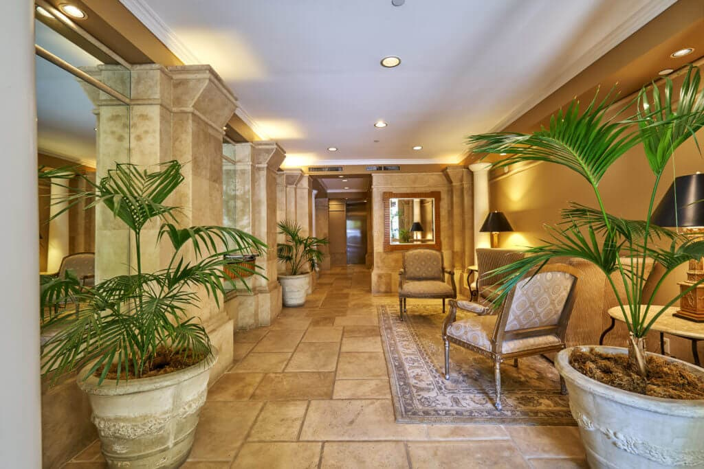 condo for sale in beverly hills lobby