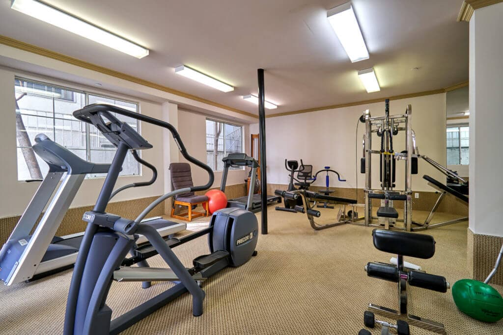 condo for sale in beverly hills gym