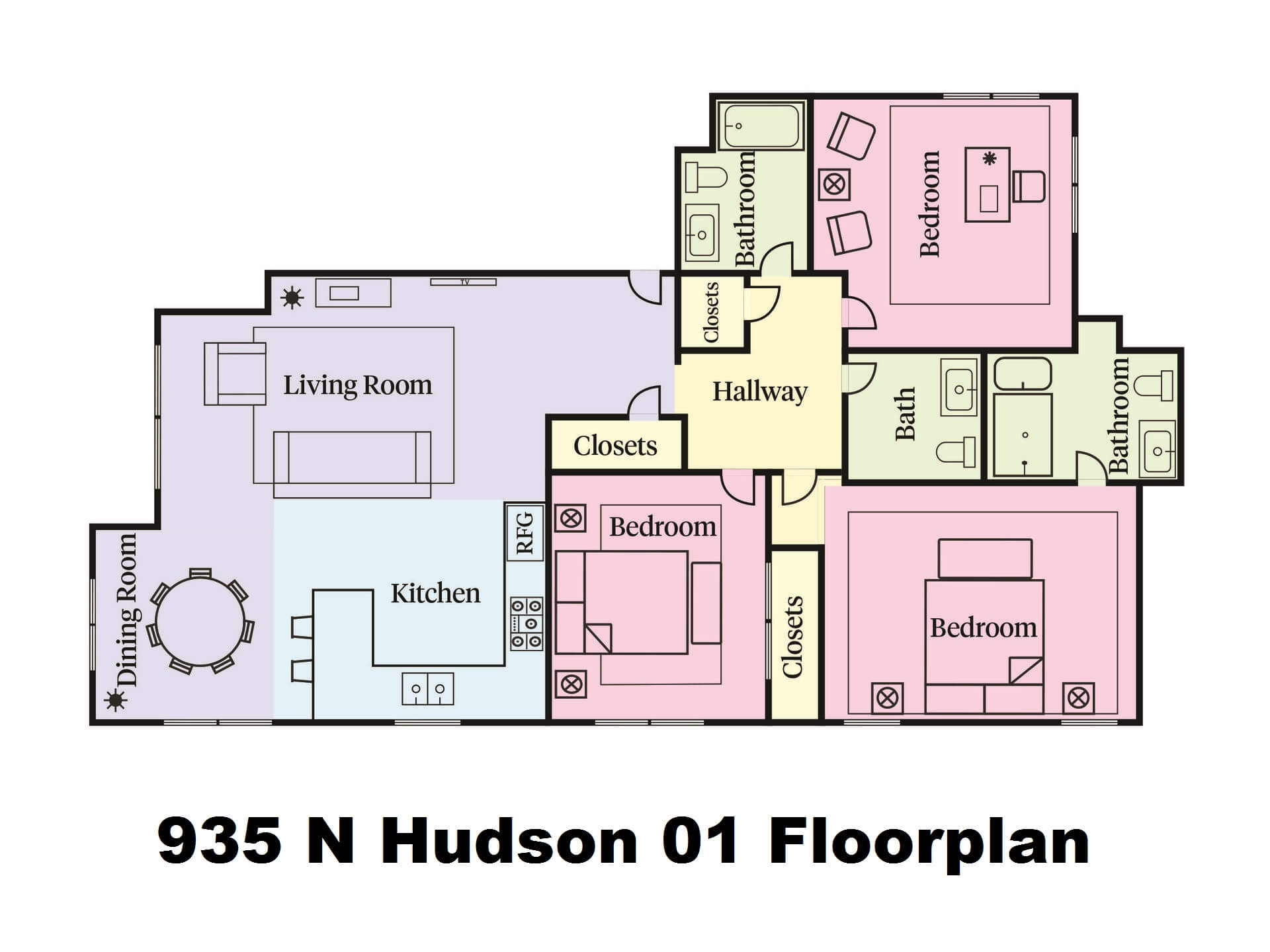 The Beautiful 935 N Hudson Ave In Los Angeles
