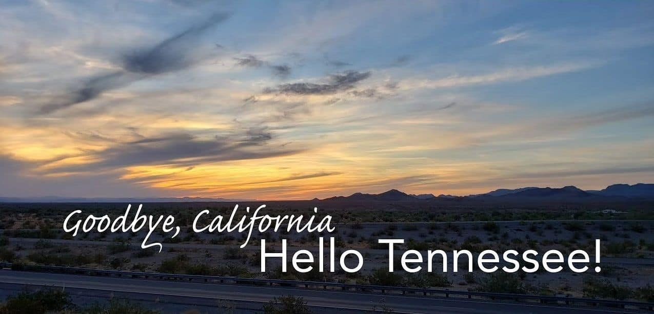 Move to Tennessee from California